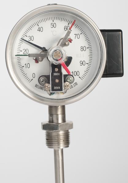 电接点双金属温度计径向WSSFDX-458