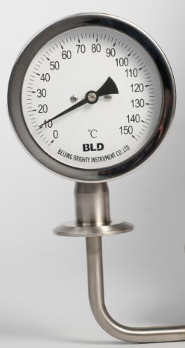 衛生型雙金屬溫度計徑向